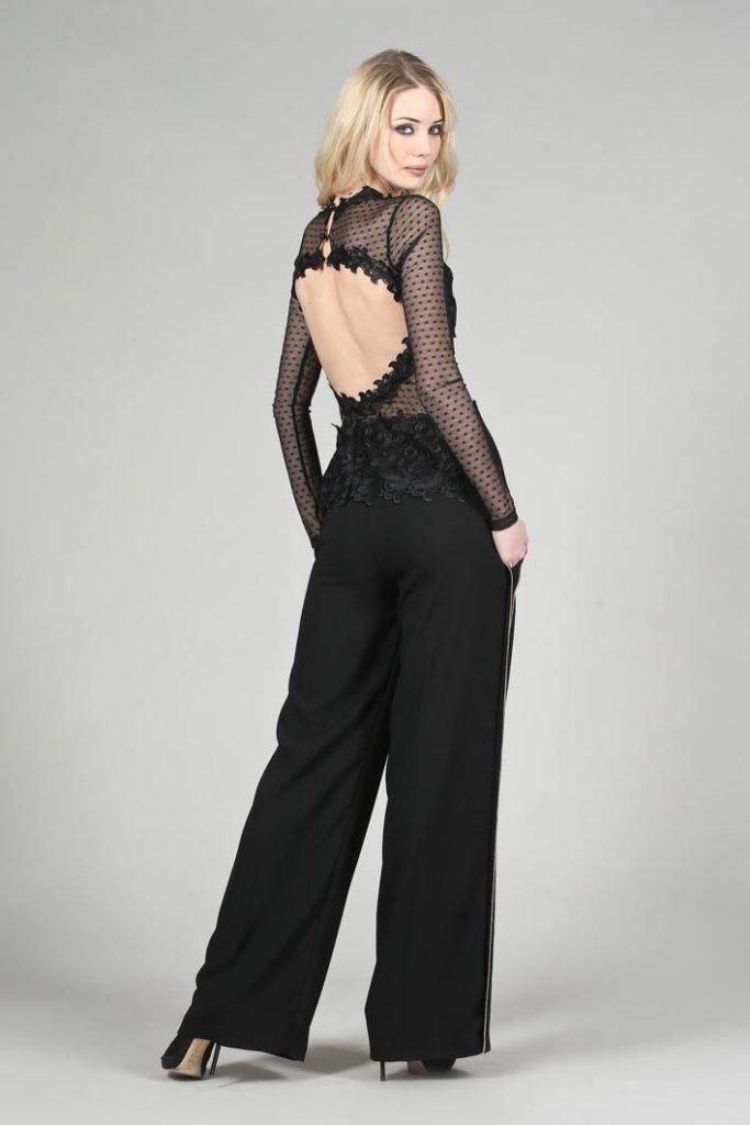 114 - Pantalone Cassandra - Blusa Sexy