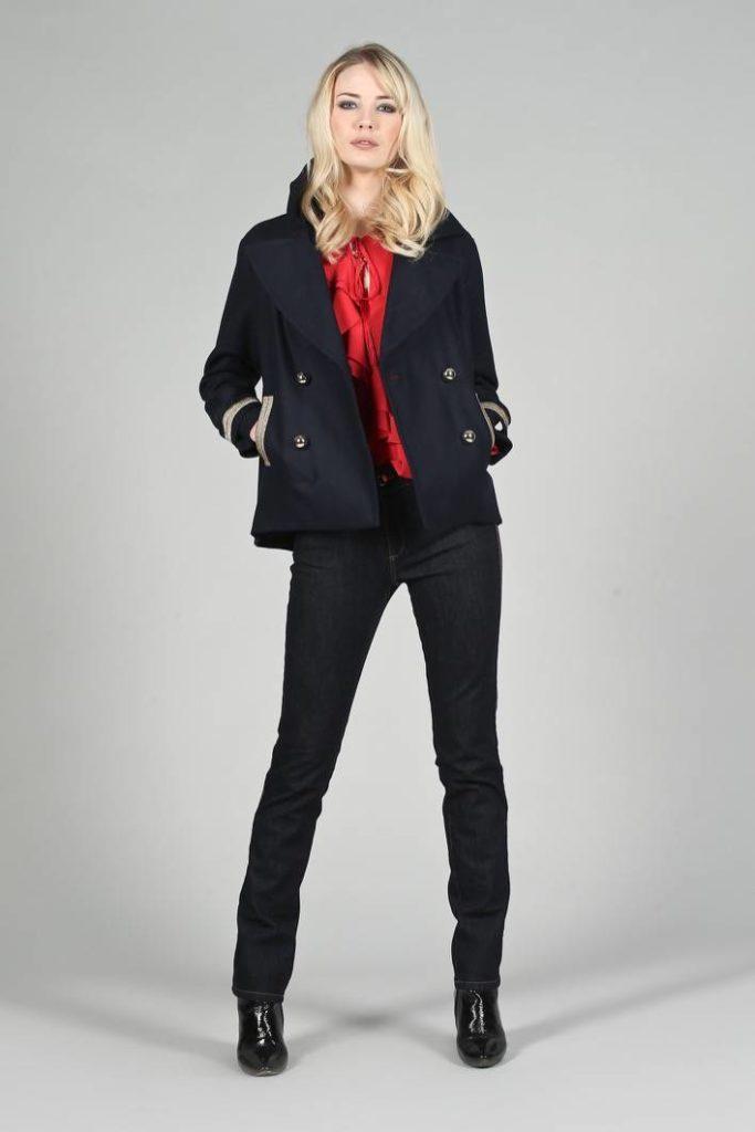 14 - Cappotto Minicaban - Camicia Allier - Jeans Mavy
