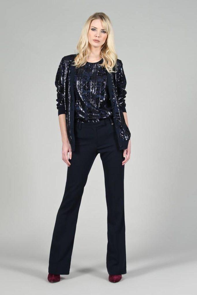 21 - Cardigan Giselle - Top Vivetta - Pantalone Amary