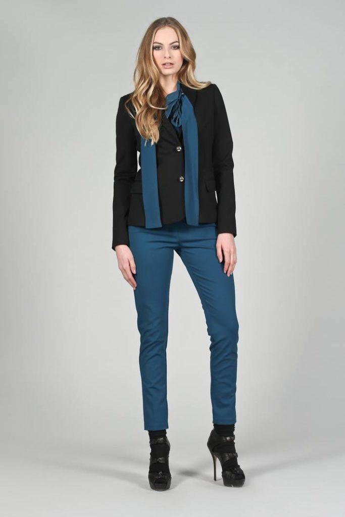 44 - Giacca Nuova - Pantalone Eco p - Blusa Stolafiore