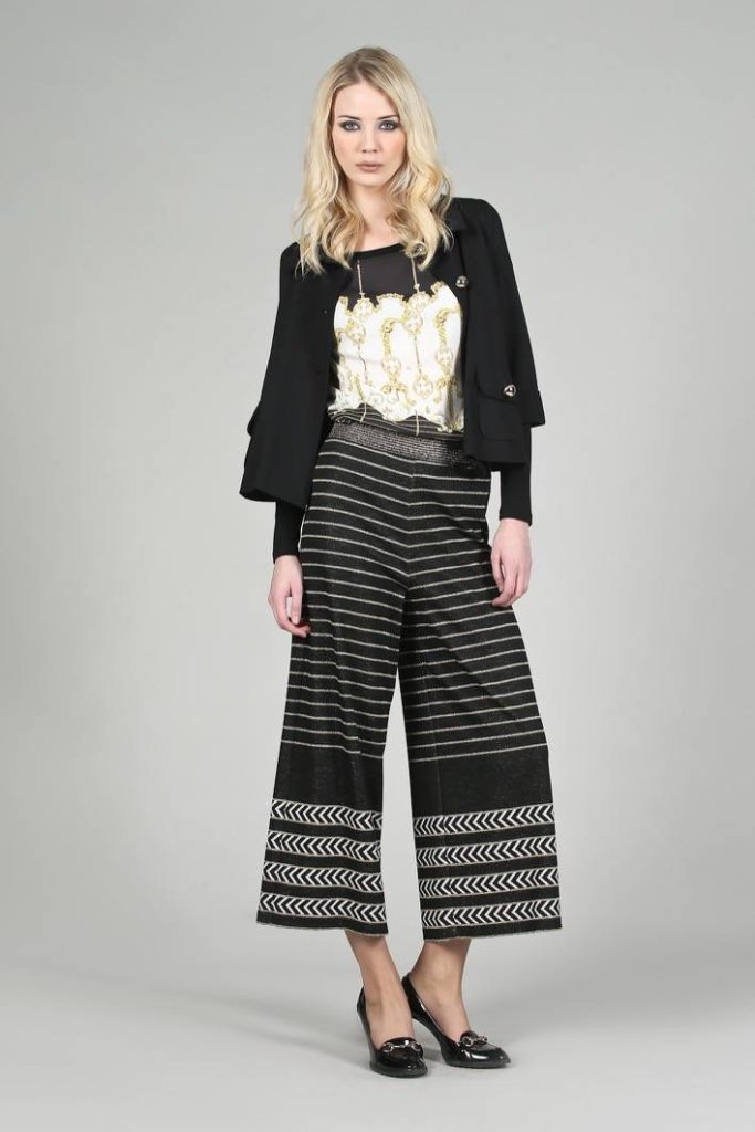 63 - Giacca Barbara - T-shirt Gold - Pantalone Milli