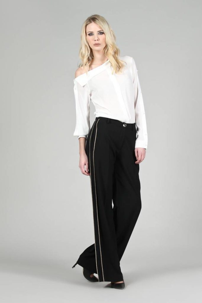 65 - Pantalone Cassandra - Blusa Couture