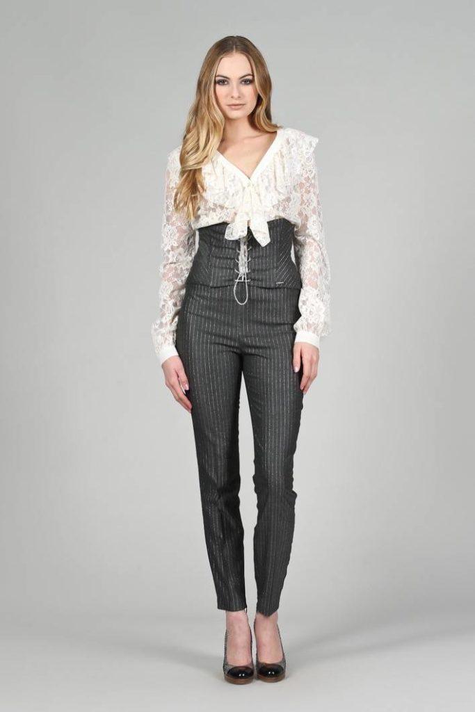 79 - Camicia Malika - Bustino Fei - Pantalone Com riga