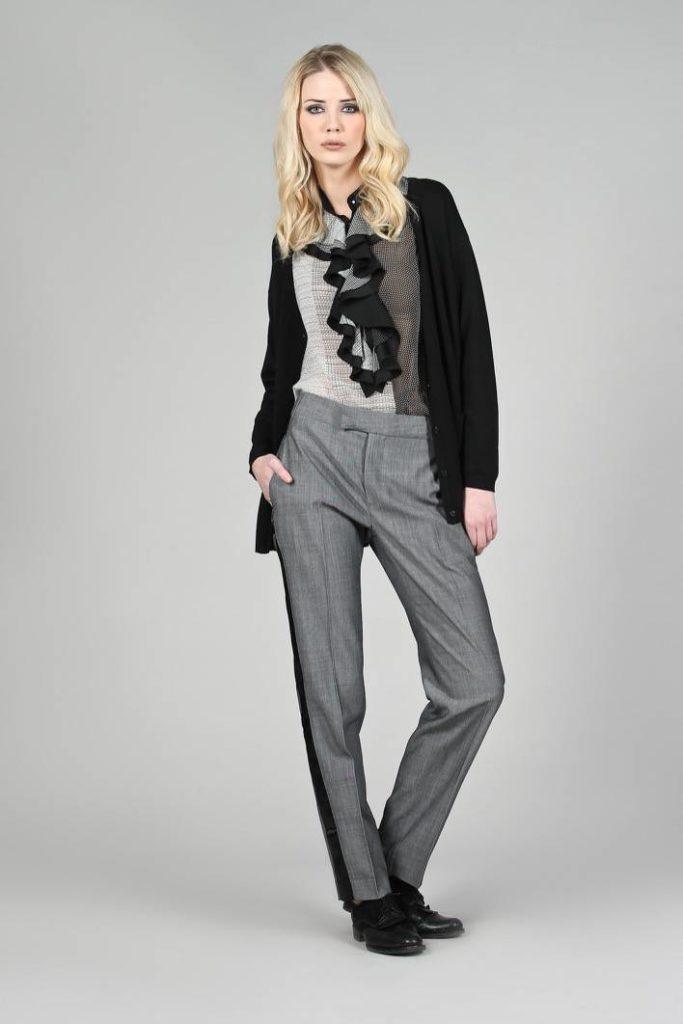 84 - Cardigan Mik - Blusa Caterina - Pantalone Diane